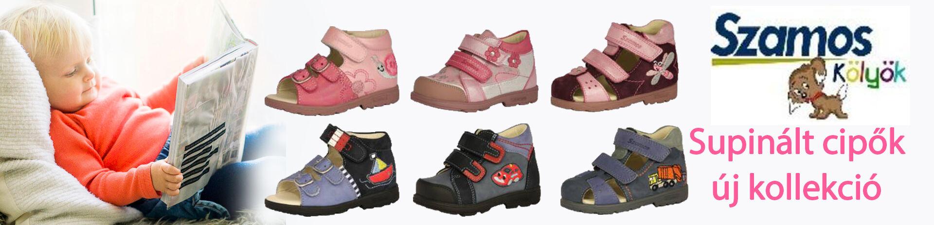 Szamos supinált cipők