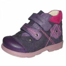 Döntött talpú virágos supinált Szamos bőrcipő lányoknak