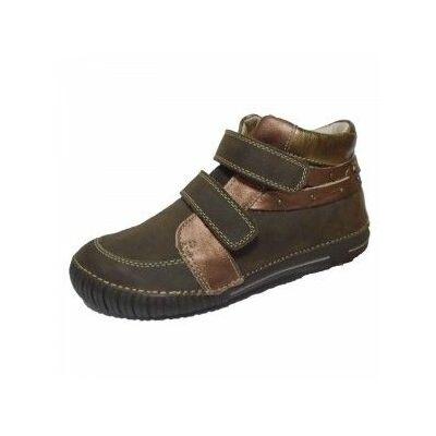 barna d.d.step átmeneti bőrcipő