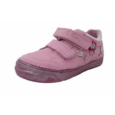 d.d.step átmeneti bőr gyerekcipő lányoknak