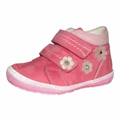 szamos, pink virágos átmeneti lány cipő
