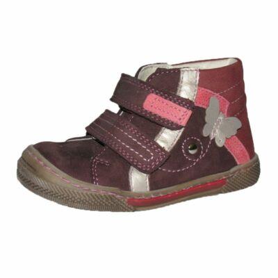 szamos lány bordó bőrcipő