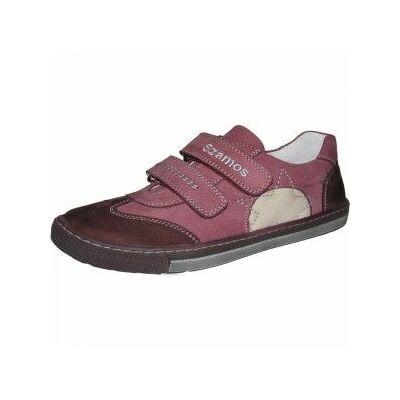 bordó átmeneti szamos bőrcipő
