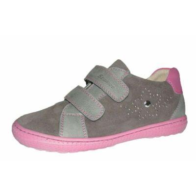 Szamos szürke-pink két tépőzáras átmeneti lány gyerekcipő 1