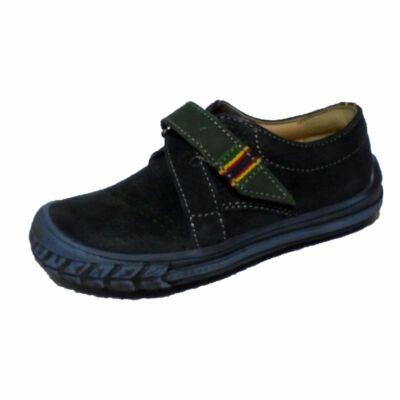 Falcon fiú zöld átmeneti bőrcipő