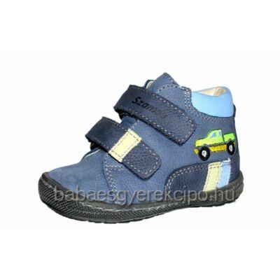 Szamos első lépés bőr cipő , bélelt , fiúknak