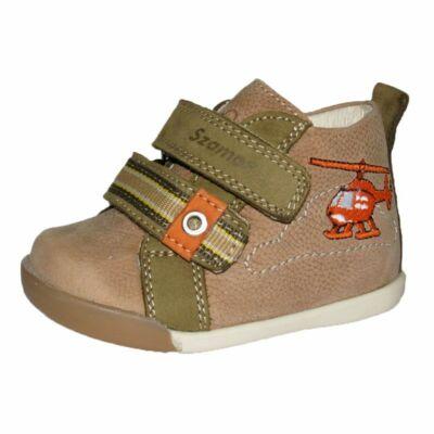 szamos fiú gyerek első lépés átmeneti bőrcipő