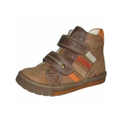 szamos, magas szárú barna, átmeneti gyerek cipő
