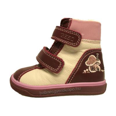 Asso, vízálló, lila színű, téli, gyerekcipő lányoknak